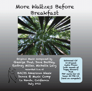 Cover of More Waltzes Before Breakfast CD