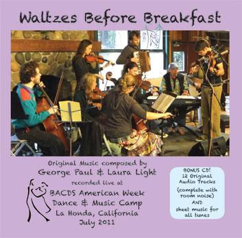 Waltzes Before Breakfast cover