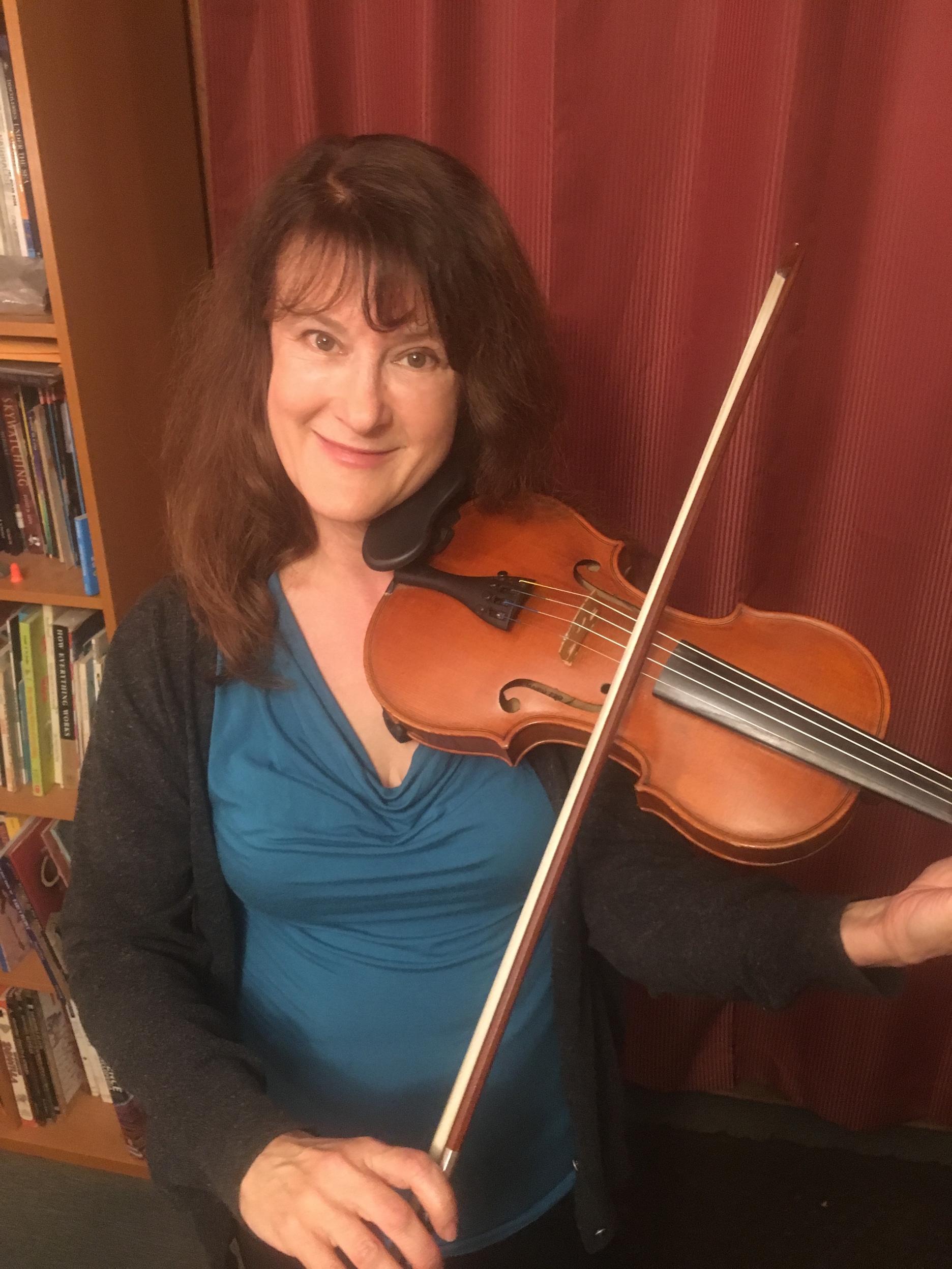 Fiddler Anne Bingham Goess