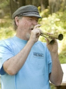 Jim with horn